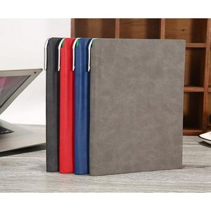 PU Leather Hardcover Notebook(A5)